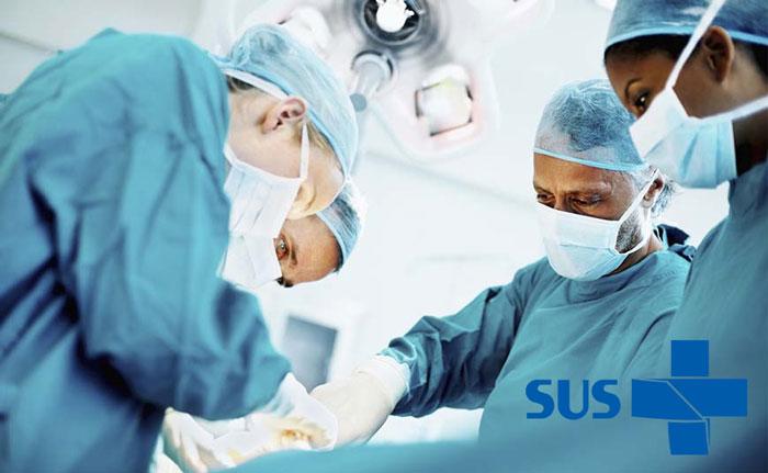 que cirurgias você consegue fazer pelo sus de graça