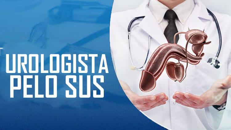 marcar consulta com urologista pelo sus