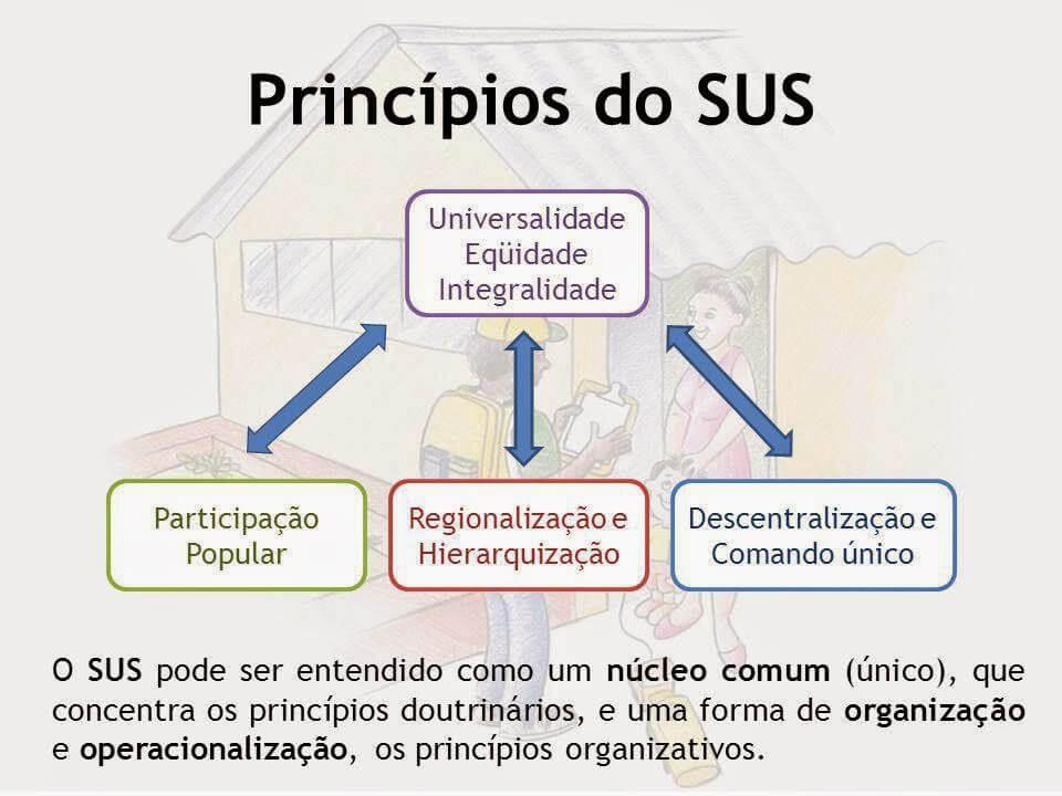 Princípios do SUS e diretrizes