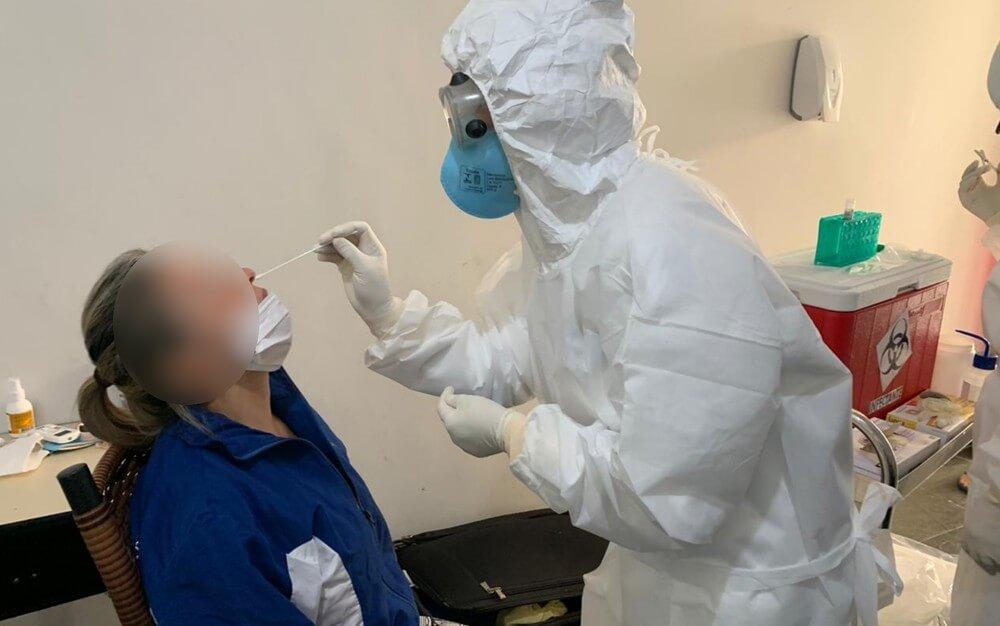 exame para detectar coronavirus